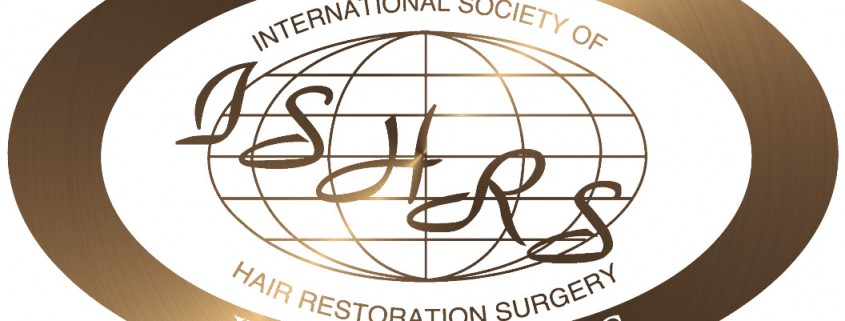 International Society of Hair Restoration Surgery (ISHRS) members only logo